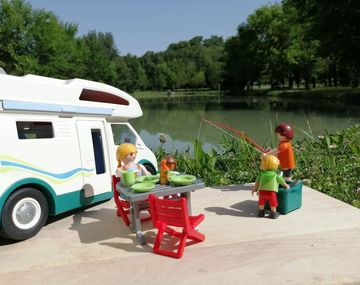 Aire de camping-car à Roquecor