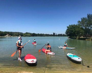 Location de paddle, canoé et baby-pédalo