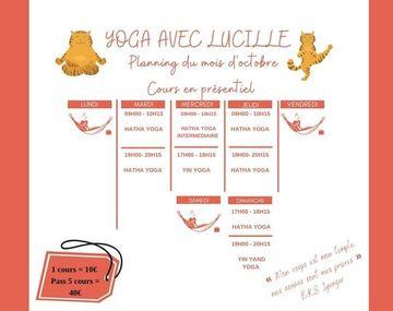 Yoga avec Lucille
