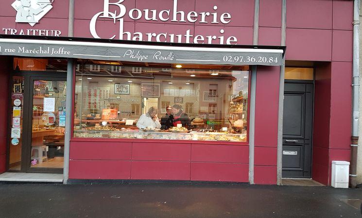boucherie charuterie Morbihan ; commerce Bretagne ; Groix