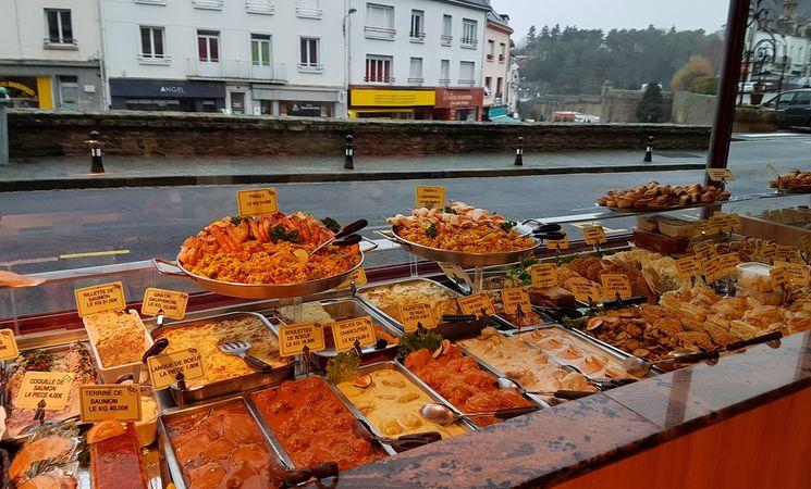boucherie charcuterie Morbihan ; commerce Bretagne ; Groix