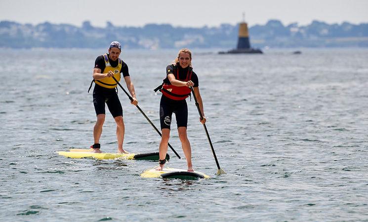 paddle morbihan ; nautisme bretagne ; groix