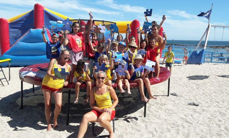 Club de Plage Morbihan ; loisirs Bretagne ; Groix