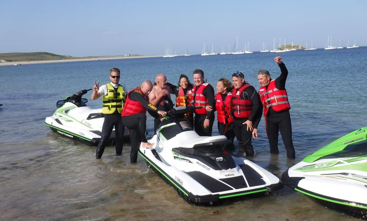 Jet Ski Flyboard Morbihan ; loisirs Bretagne ; Groix