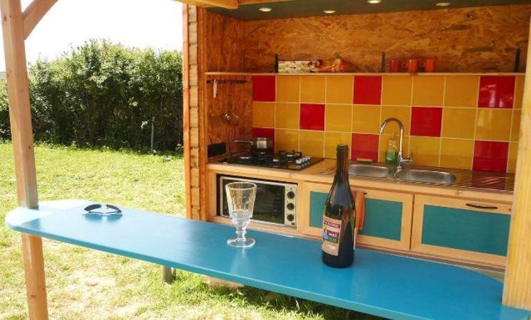 yourte Morbihan; roulotte bretagne ;tipi bretagne sud ;cabane morbihan ; Groix