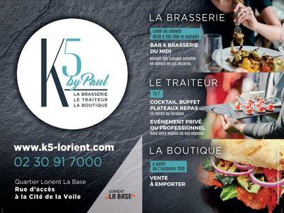 Restaurant Le K5 by Paul