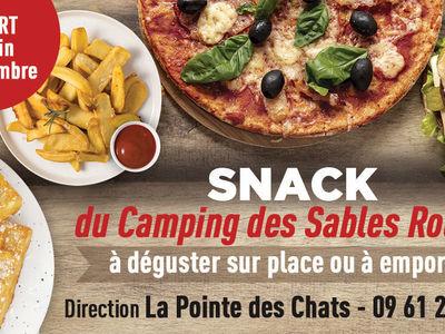 Le Snack du Camping des Sables Rouges
