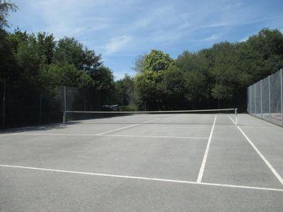 Terrain de tennis de Lanvaudan