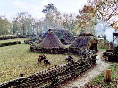 Melrand Village de l'An Mil