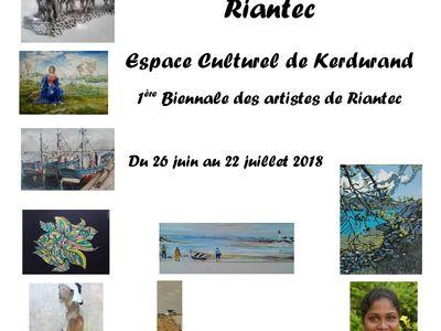 Première biennale des artistes de Riantec