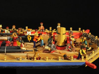 Musée de la Compagnie des Indes : Maquettes et dioramas, toute une histoire