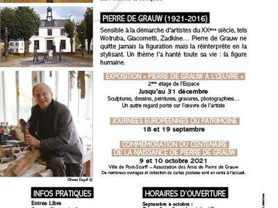 Pierre de Grauw à l'oeuvre