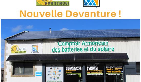 CABaSol, magasin de batteries et produits solaires