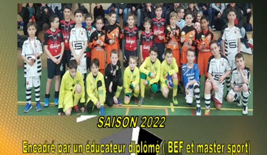Stage futsal 8-11 ans - 15ème édition