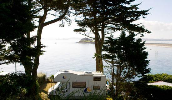 Camping Ar Kleguer - Aire dans un camping