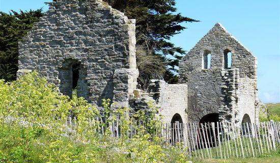 Les ruines de la Chapelle Sainte-Anne