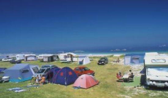 Camping de Roguennic - Aire dans un camping