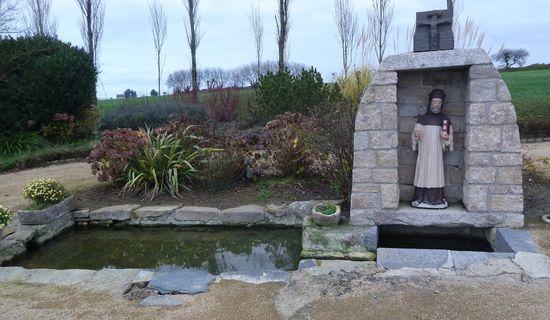 Fontaine de dévotion Saint-Hervé