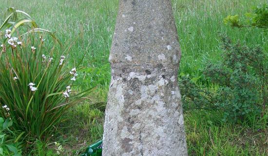 Croix monumentale au village (Gare)