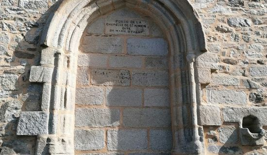 Vestiges de la chapelle Saint-Ninien
