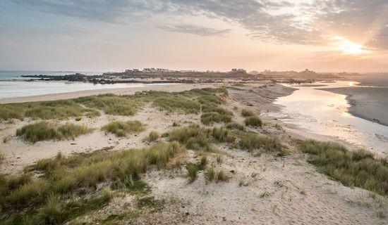 Plage d'Odé Vras - Dunes de Keremma