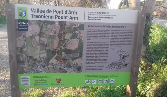 Sentier de la Vallée de Pont d'Arm