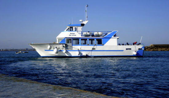 Traversée maritime du Port de Moguériec pour l'Ile de Batz