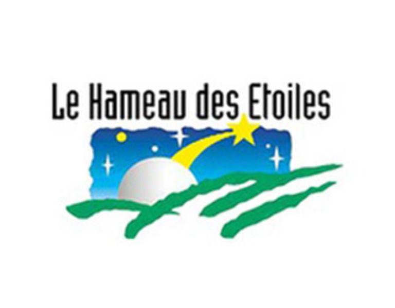 logo hameau des etoiles,